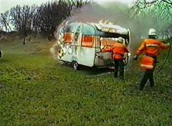 Campingwagenbrand