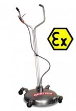 Chariot de nettoyage de sol antidéflagrante BRW 550 EX