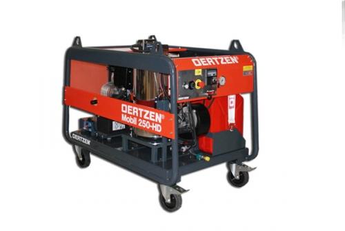 250 bar - application industrielle - chauffée - eau chaude - haut