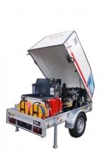 ***|OERTZEN - POWERTRAILER 330 - diesel - eau chaude|***