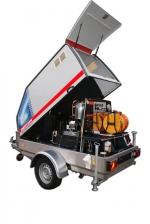 ***|OERTZEN - POWERTRAILER 380 - diesel - eau chaude|***