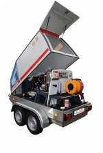 ***|OERTZEN - POWERTRAILER 500 - diesel - eau chaude|***